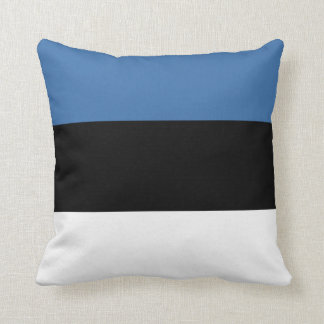 Estonia Flag x Flag Pillow
