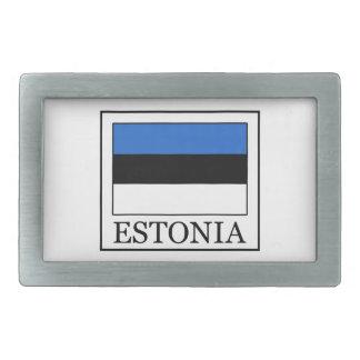 Estonia Hebilla Cinturon Rectangular