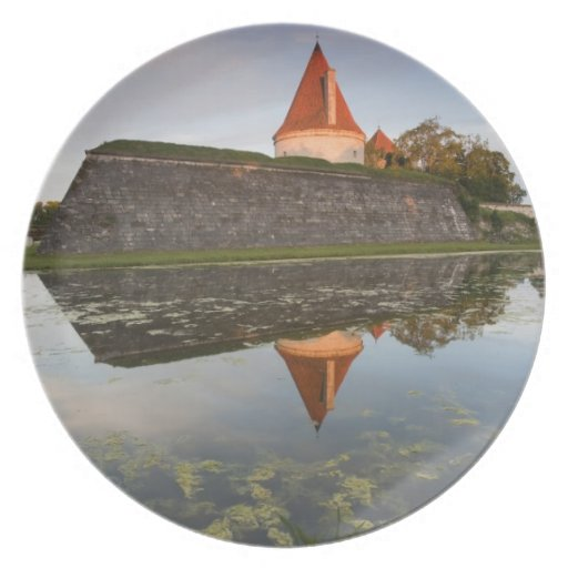 Estonia, islas occidentales de Estonia, Saaremaa Plato De Cena