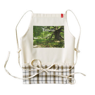 Estonia Landscape Zazzle HEART Apron
