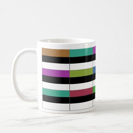 Estonia Multihue Flags Mug