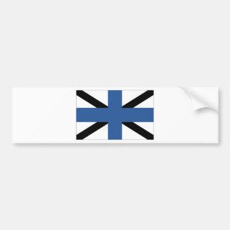 Estonia Naval Jack Bumper Stickers