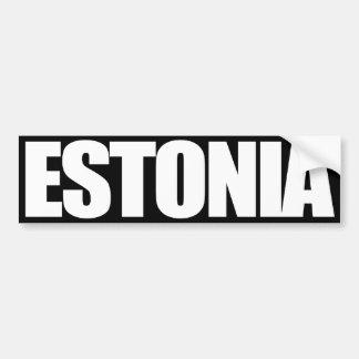 Estonia Pegatina Para Auto