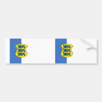Estonia - Rear Admiral, Estonia flag Bumper Sticker