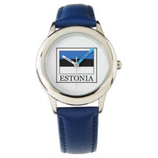 Estonia Reloj De Mano