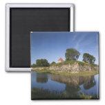 Estonia, Western Estonia Islands, Saaremaa 2 2 Inch Square Magnet
