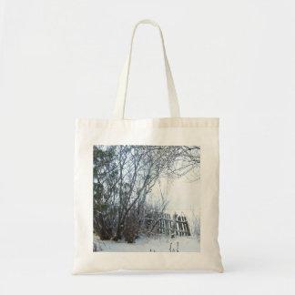 Estonia Winter Budget Tote Bag