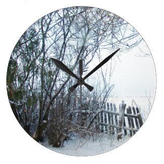 Estonia Winter Wallclocks