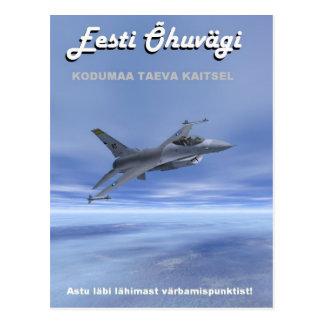 Estonian Air Force Postcard