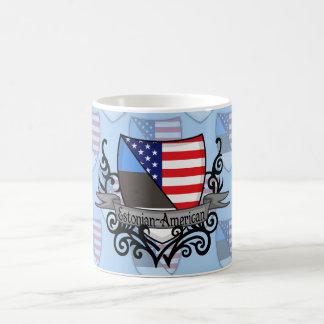 Estonian-American Shield Flag Coffee Mug