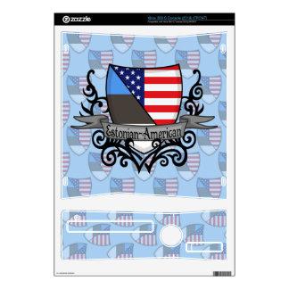 Estonian-American Shield Flag Skins For The Xbox 360 S