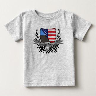 Estonian-American Shield Flag Tee Shirt