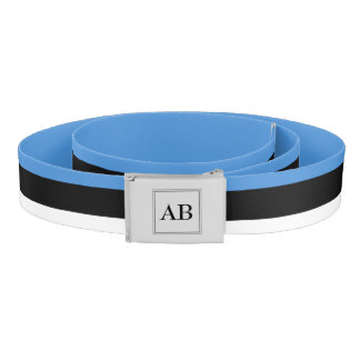 Estonian flag belt