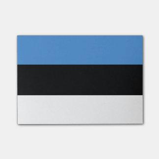 Estonian flag post-it® notes