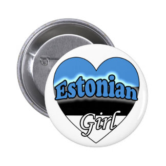 Estonian Girl Pin
