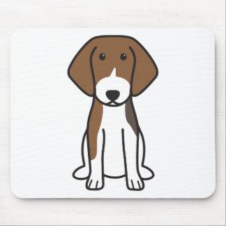 Estonian Hound Dog Cartoon Mouse Pad