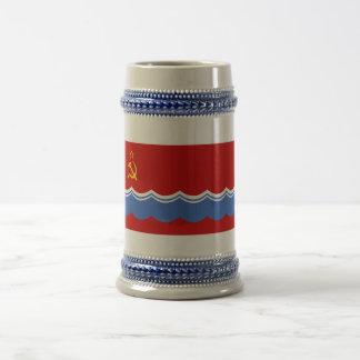 Estonian SSR Flag 18 Oz Beer Stein