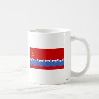 Estonian SSR Flag Classic White Coffee Mug