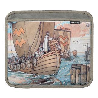 Estonian Vikings at Harbour iPad / Rickshaw Case Sleeves For iPads