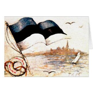 Estonia's 1st National Postcard - Blank