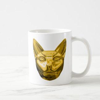 Estopa del gato egipcio tazas de café