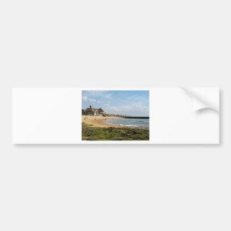 Estoril Beach view Bumper Sticker