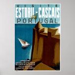 Estoril-Cascais en Portugal Póster