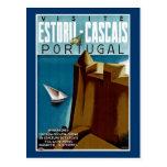 Estoril-Cascais en Portugal Tarjetas Postales
