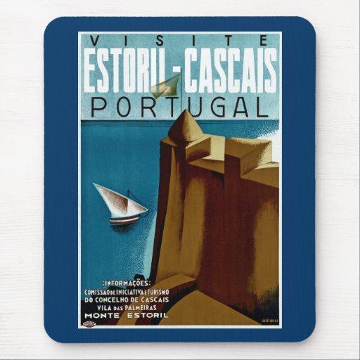 Estoril-Cascais in Portugal Mouse Pad