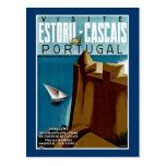 Estoril - Cascais Portugal Postcard