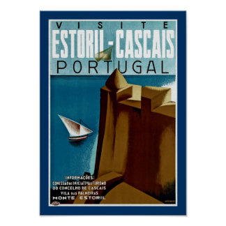Estoril - Cascais Portugal Poster