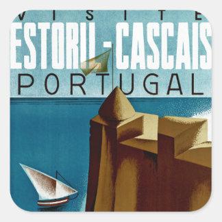 Estoril - Cascais Portugal Square Sticker