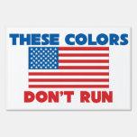 Estos colores no corren los E.E.U.U.
