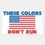 Estos colores no corren los E.E.U.U. Rectangular Altavoz