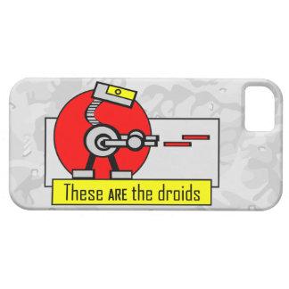 Éstos SON los droids iPhone 5 Carcasa