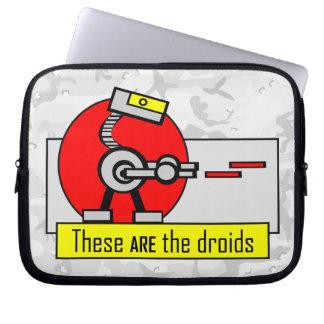 Éstos SON los droids Funda Portátil
