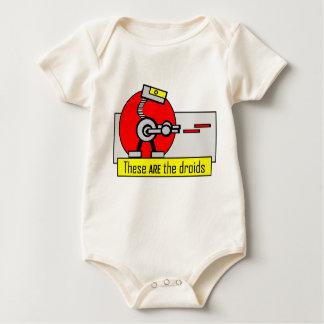 Éstos SON los droids Mameluco De Bebé