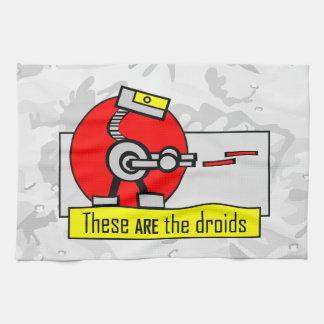 Éstos SON los droids Toalla De Mano