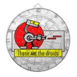 Éstos SON los droids Tabla Dardos