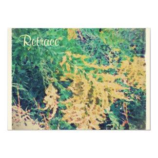 """Estos Wildflowers de septiembre de las estaciones Invitación 5"""" X 7"""""""