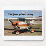 Estoy apenas loco plano: Aviones de Cessna Tapete De Ratones