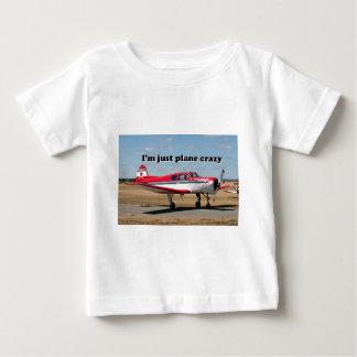 Estoy apenas loco plano: Aviones de los yacs Playera De Bebé