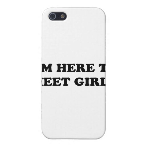 Estoy aquí encontrar a chicas iPhone 5 coberturas
