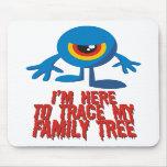 Estoy aquí remontar mi árbol de familia tapetes de ratón