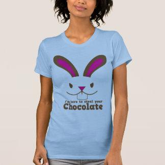 Estoy aquí robar su CHOCOLATE Camisetas