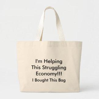 ¡Estoy ayudando a esta economía de la lucha!!! Bolsa