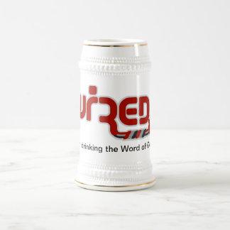 Estoy bebiendo la palabra de la taza de dios