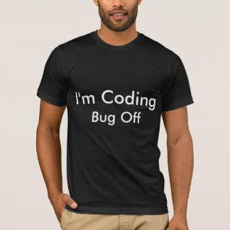 Estoy cifrando el insecto apagado playera