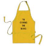 Estoy cocinando los libros delantales