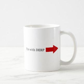 Estoy con DERP Taza De Café